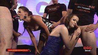 Best pornstar in Amazing Gangbang, Bukkake adult video