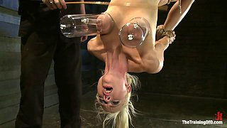 Lorelei Lee Day 3Learning the Ropes of Brutal Domination - TheTrainingofO