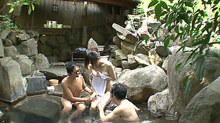I Sent My Wife To Konyoku Onsen Spa To Be Fucked By Strangers