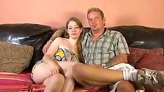 Slutty housewife gets slammed