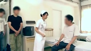 Japanese hospital nurse fucks 5