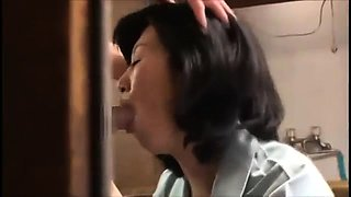 Lustful Asian housewife submits to every hard inch of cock
