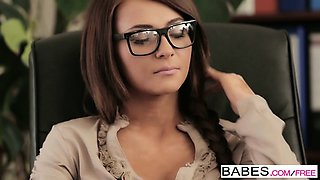 Babes - Office Obsession - Alexis Brill and V