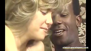 hot classic chick takes big black cock