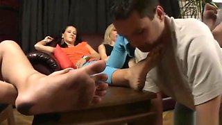 Dirty feet worship 11
