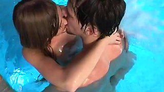 Indoor Pool Sex With A Kinky Teen