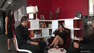 Nothing pleases Anissa Kate and her friend like fucking together