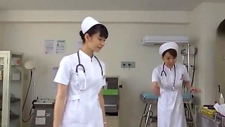 Amazing Japanese whore Yuki Aoi, Yumemi Nakagawa, Nachi Sakaki in Crazy Handjobs, Nurse JAV video