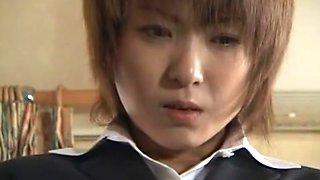 Horny Japanese slut Hina Wakara in Best Fingering, Blowjob/Fera JAV scene