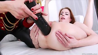isabella clark and her sweetie have lesbian sex and gaping assholes