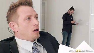 hot housewife fucks the insurance salesman