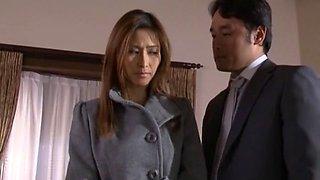 Horny Japanese whore Akari Asahina in Amazing JAV clip