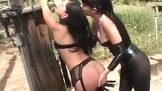 Slave Getting Abused In The Forest