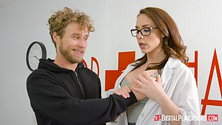 Chanel Preston is a babe with glasses who wants to be fucked
