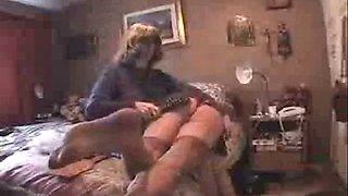 auntie punishes carl