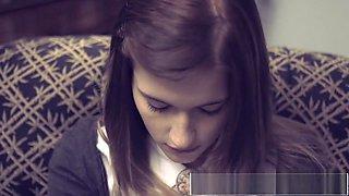 TEENFIDELITY - Schoolgirl Cutie Alaina Dawson Creampied On The Desk