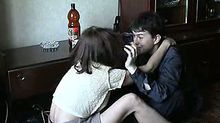 Russian couple getting drunk and having wild sex by the epic Russian carpet
