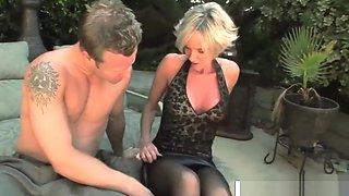 Smoking Milf Cara Lott Wants To Fuck Hard Her Dad's Friend