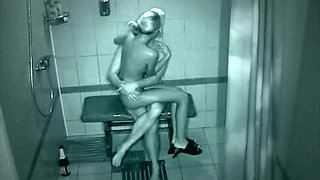 Bathroom Sex With A Very Hot Blonde