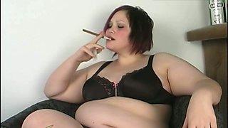 BBW pussy cigar and vodka 1