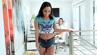 TeenPies - Slutty Teen Gets Creampied By Her Step Father