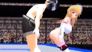 hentai mixed wrestling ass attack