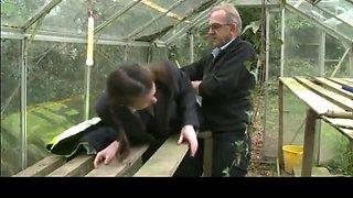 Elly disgraced head schoolgirl  spanked thoroughly.