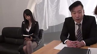 Rina mayuzumi as busty secretary