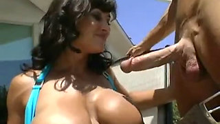 Lisa Ann Seduce Pool Guy