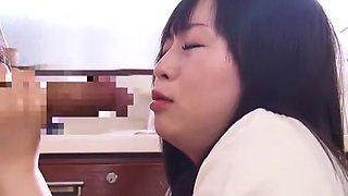 Fabulous Japanese model Imai Natsumi in Amazing Wife, Masturbation/Onanii JAV movie