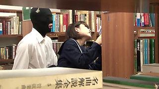 Japanese School Library Fuck