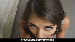 SisLovesMe - 2017 Compilation of Step Sisters getting young