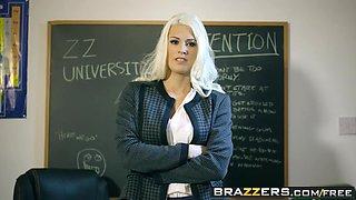 Brazzers - Big Tits at School - Teacher Tease scene starring