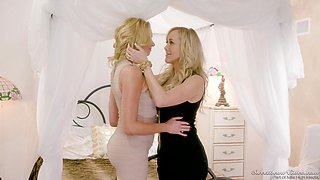 Naughty Brandi Love and Brianna Banks know how to please each other