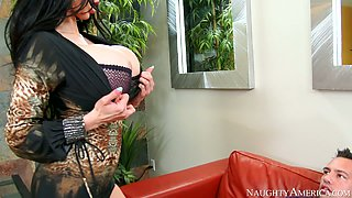amy anderssen busty johnny castle in naughty office