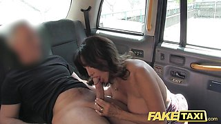Hot milf with big tits does anal