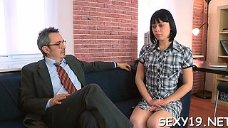 doggystyle humping with tutor amateur segment 3