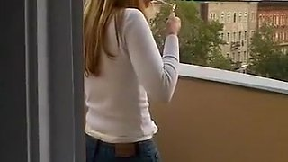 Exotic homemade Smoking, Solo Girl adult movie