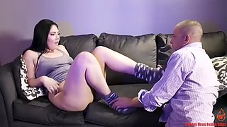Daughter blows daddy pov blowjob