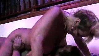 Busty MILF Smoking Fetish Porn model