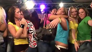 Amateur Babes Getting Banged Hard By Male Strippers