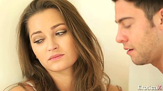 Shy looking sweetie Dani Daniels gets her kitty pounded in mish style