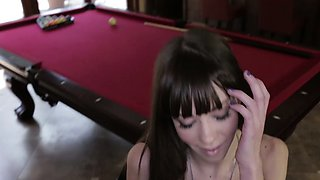 POVLife - Skinny Babe Fucked On The Pool Table