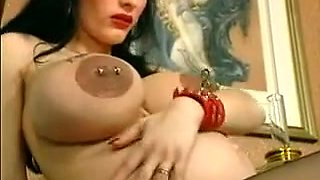 Crazy homemade Pregnant, Piercing adult scene
