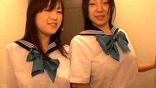 94 jpn threesome schoolgirls