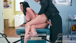 Nasty MILF Veronica Avluv does not mind being fucked by a doctor