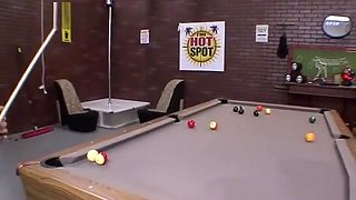 Blonde Midget Chick Fucked After Pool