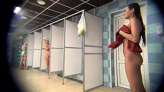 Public Pool 180s Shower Voyeur