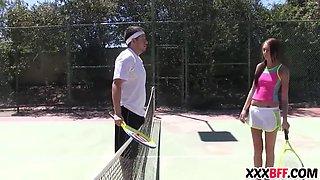 sexy summer camp tennis sluts