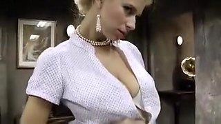 Crazy pornstar in amazing threesome, straight xxx scene